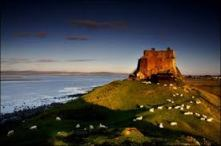 Holy Island, England. http://www.bbc.co.uk/