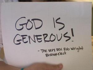 God is Generous
