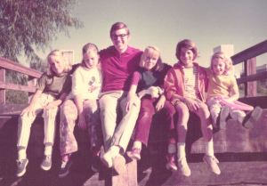 1971 bridge dad kids