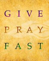 give-pray-fast