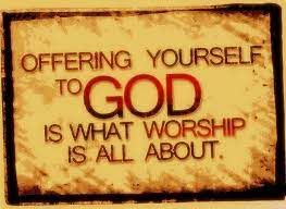 offering yourself