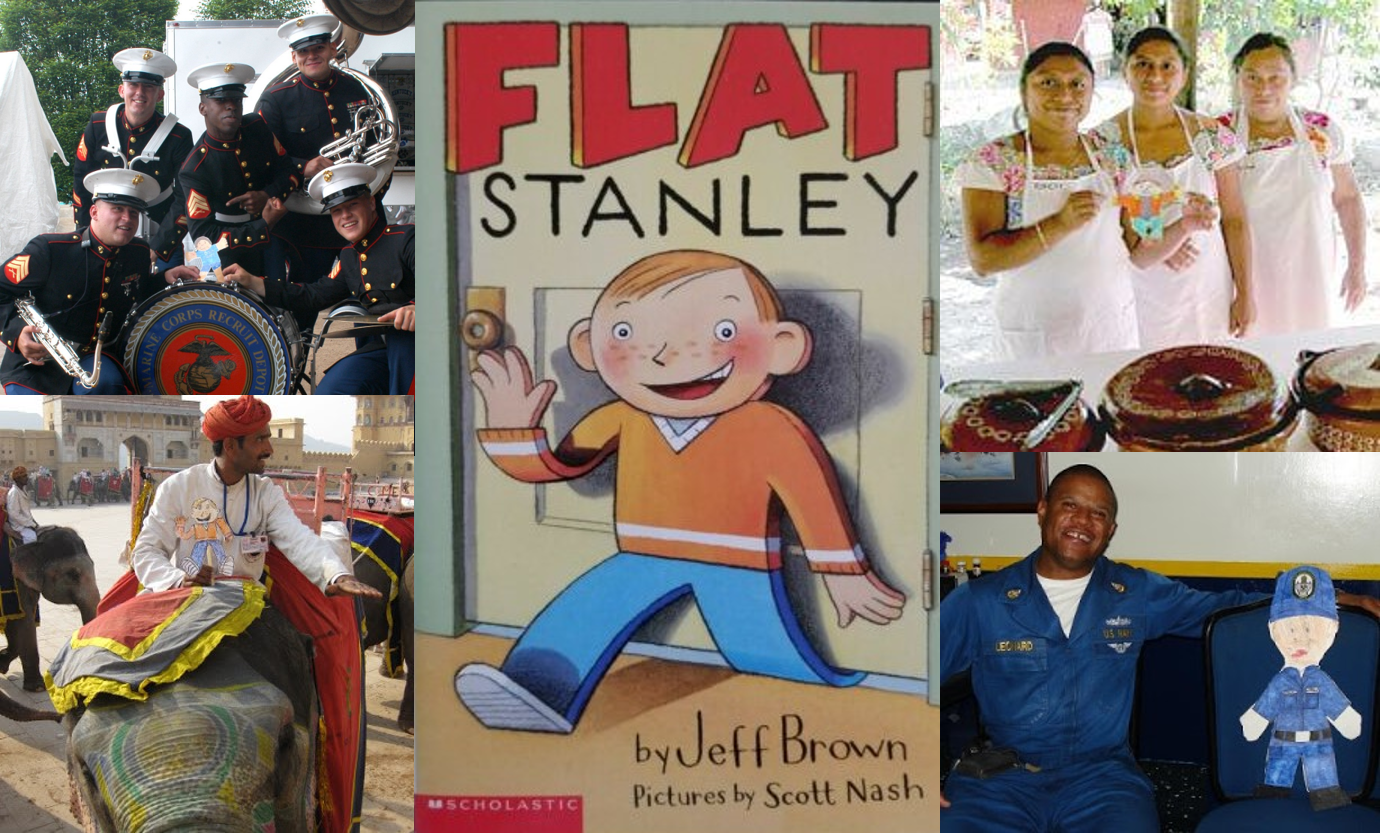 Flat Stanley Collage