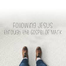 gospel of mark feet